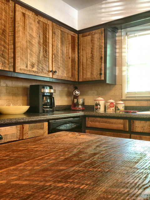 Cabinet Doors Rustic Kitchen Atlanta By The Rusted Nail