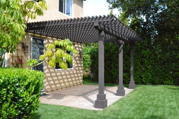 lattice patio covers designs Wood Lattice Patio - Traditional - Patio - los angeles