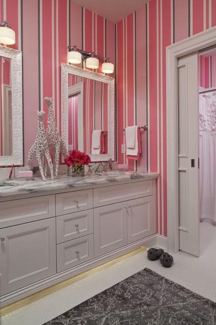 Parkwood Road Residence Bathroom transitional bathroom