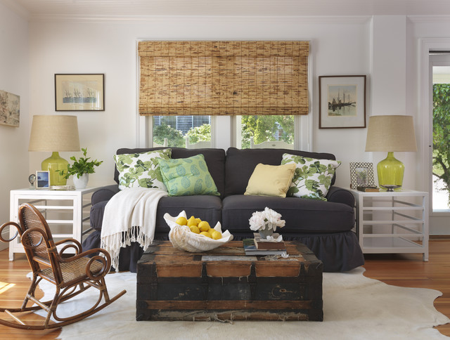 eclectic living room by Kate Jackson Design