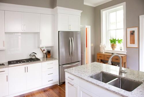 quick kitchen renovations benjamin moore gray kitchen