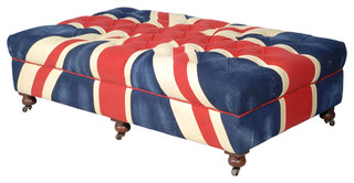 Bensington Large Union Jack Coffee Table Ottoman transitional-footstools-and-ottomans