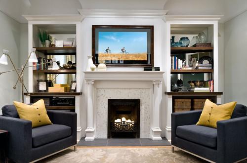 15 Creative Ways to Design or Decorate Around the TV
