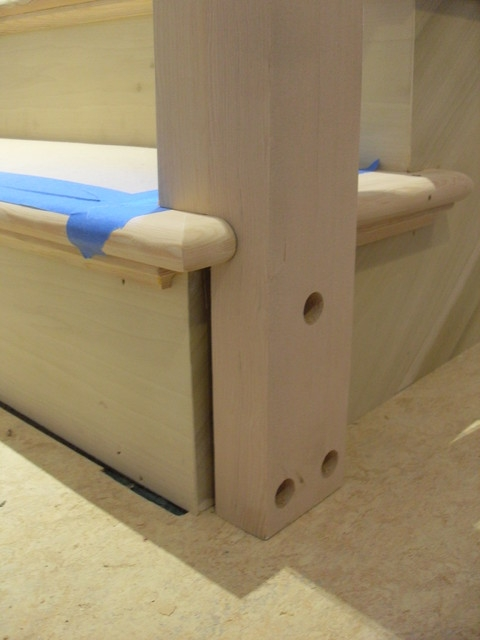 Removable Handrail Traditional Portland By Portland | Removable Handrail For Stairs