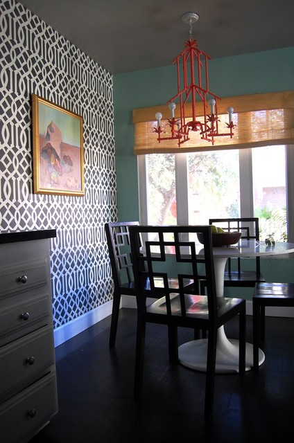 beach bungalow 8 houzz tour eclectic dining room