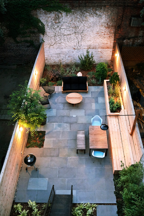 16 Ways to Get More from Your Small Backyard   HuffPost on Houzz Backyard Patios  id=38026