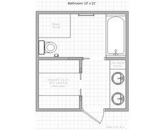10 x 12 bathroom floor plans 12 x 10 bathroom layout google search - 12 X 12 Bathroom Designs