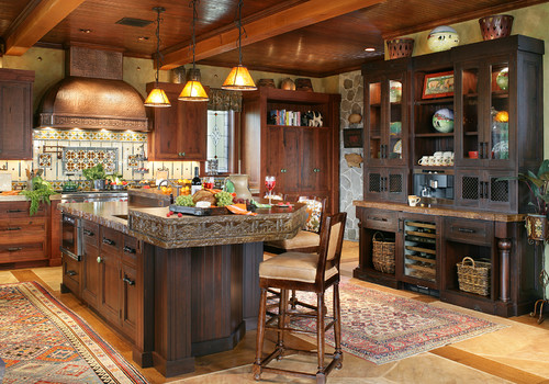 dream mountain home kitchen pictures from interior on beautiful kitchen pictures ideas houzz id=16617