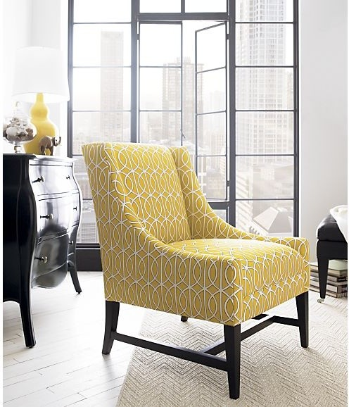Yellow Accent Chairs Living Room