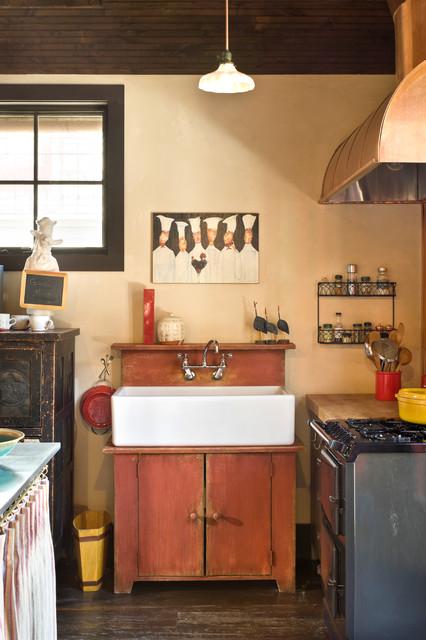 Rocky Mountain Retreat Rustic Kitchen Denver By