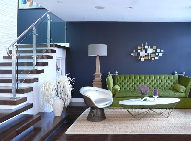 Puri-Punian Residence, San Francisco, CA midcentury living room