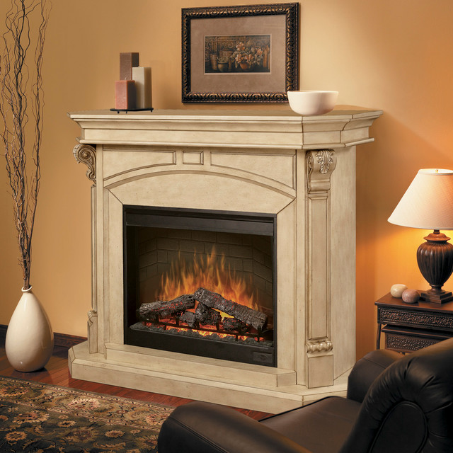 Electric Fireplace For Small Living Room on Small Space Small Living Room With Fireplace  id=73708