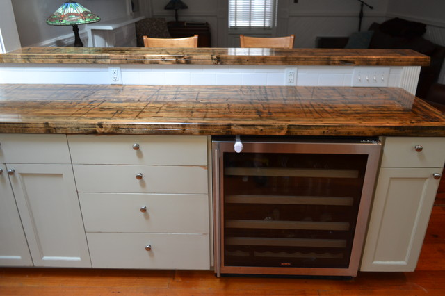 Reclaimed Wood Countertops recycled wood countertops - bstcountertops