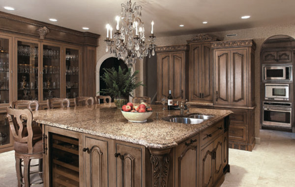Old World Kitchen Design