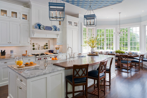 Simple Traditional Kitchen by New York Interior Designers u Decorators Kathleen Walsh Interiors LLC I have worked with Kathleen Walsh before