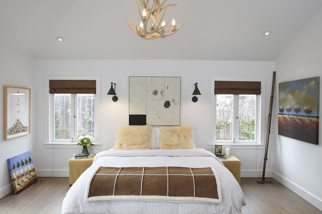 Mill Valley contemporary bedroom