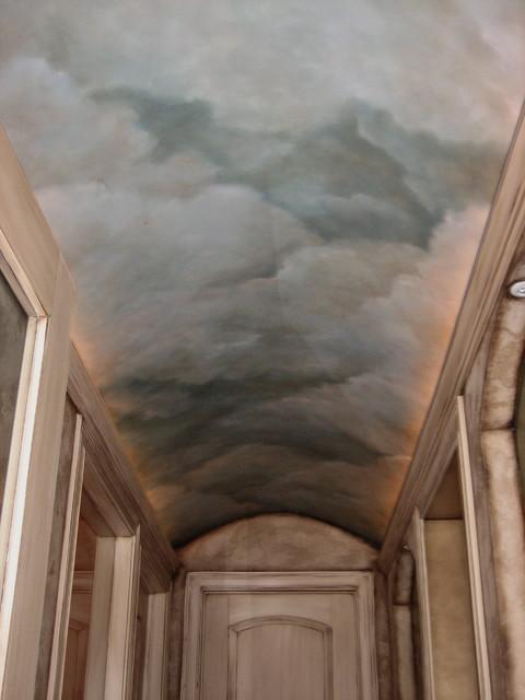 Barrel Ceiling Sky Mediterranean Wine Cellar Chicago By DISTINCTIVE APPLICATIONS