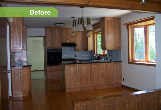 User Before After 24 Dramatic Kitchen Makeovers Accessibility Home Improvements