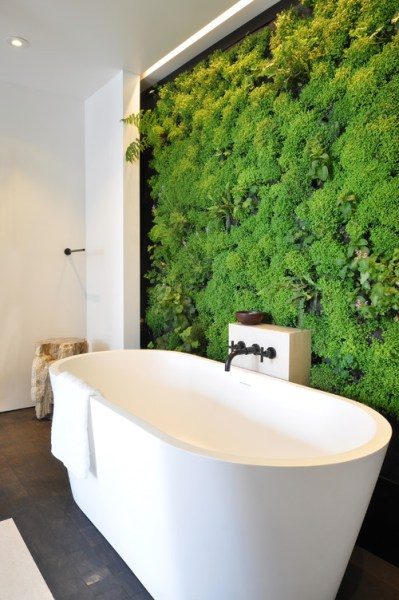 bathroom with vertical garden 12 Bathroom Design Ideas Expected To Be Big In 2015