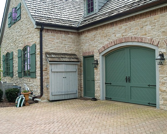 French Country Garage Doors Design Ideas, Pictures ... on Garage Door Color Ideas  id=69464