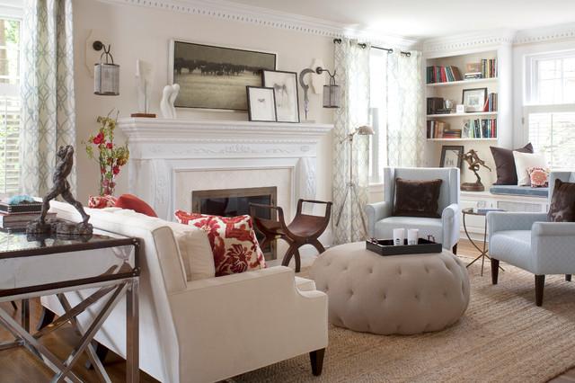 contemporary living room by O Interior Design