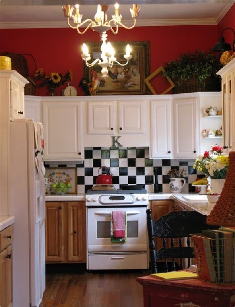 Nice Yellow Kitchen Mesmerizing Decor Arrangement Ideas With