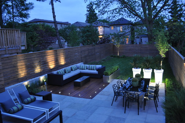 Modern Toronto Backyard on Modern Landscaping Ideas For Small Backyards  id=43850