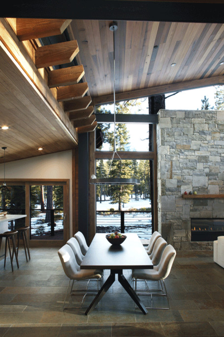 RoyaumeStyleDeco, Chalet Tahoe Lake, Table