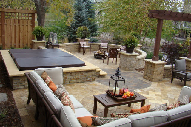 Backyard Retreat - Traditional - Patio - minneapolis - by ... on Backyard Retreat Ideas id=58867