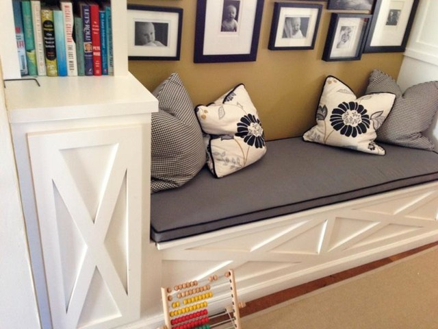 Built Ins Bench Storage And Cabinets Traditional