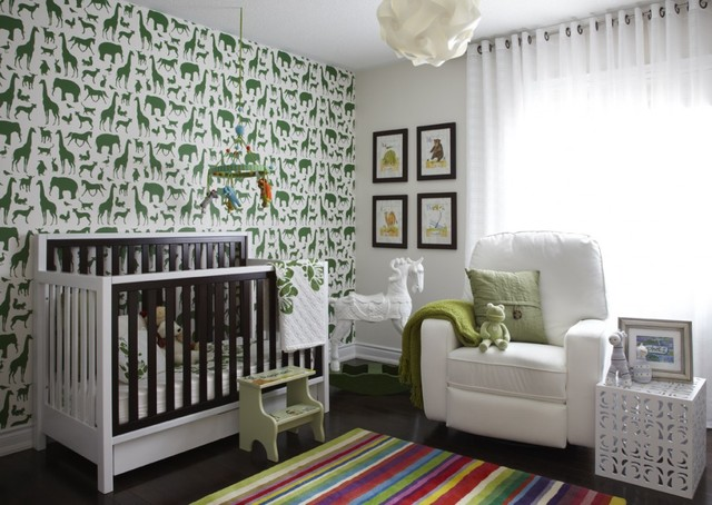 Baby Room contemporary nursery
