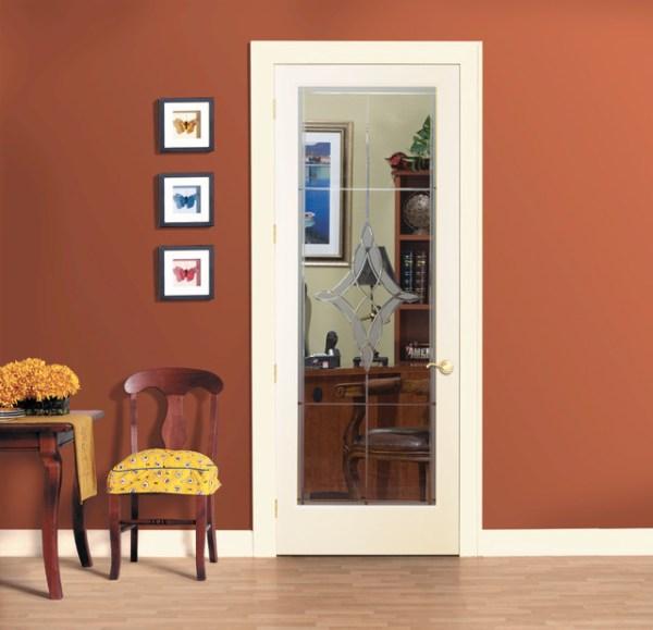 Madison Decorative Glass Interior Door - Home Office ...