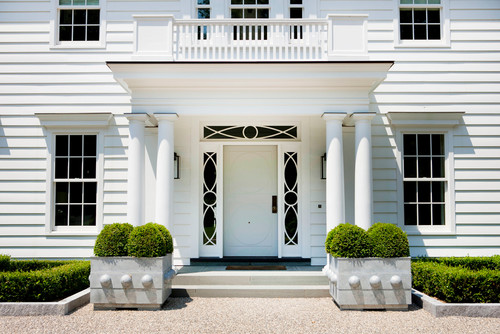Or you can check out fabulous benches and planters from partner sites like our very own The Well Appointed House. Here are 20 fabulous portico ideas \u2013 take ... & Stunning Front Door Ideas: Add a Portico! 20 Gorgeous Entryways ...
