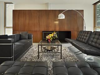 LG House - Living Room Interior modern-living-room