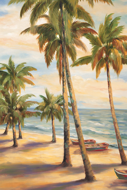 Tropical Paradise II - Tropical - Artwork - new york - by ...