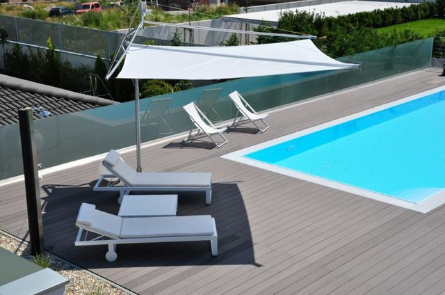 Retractable Sail Awnings by Corradi - Outdoor Umbrellas ... on Corradi Living Space  id=85099