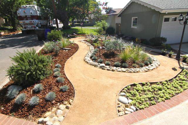 Grassless - Modern - Landscape - los angeles - by Dattola ... on Grassless Garden Ideas  id=15519