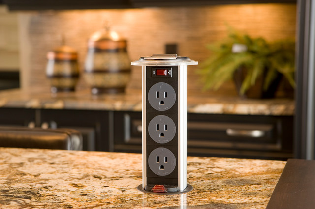 2010 Dream Home Pop Up Electrical Outlet Traditional