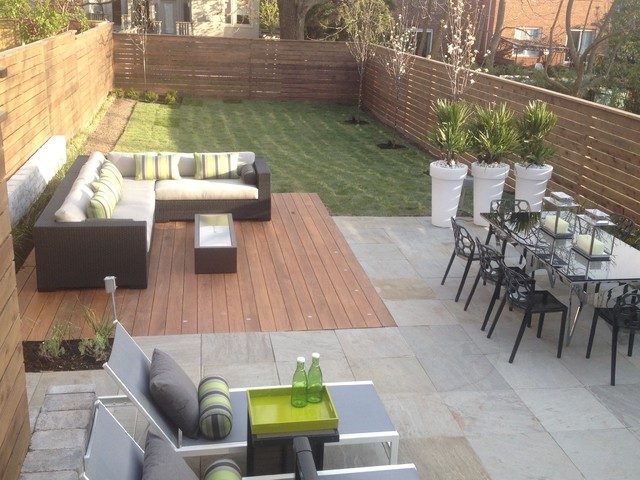 Contemporary Patio - Home Decorating Ideas on Modern Back Patio id=98336