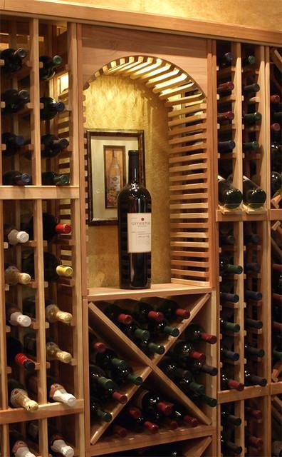 small wine rack design