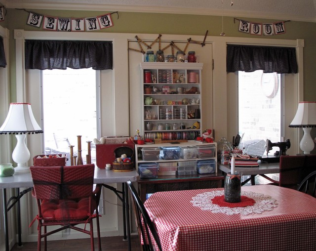 Cozy Sewing Space