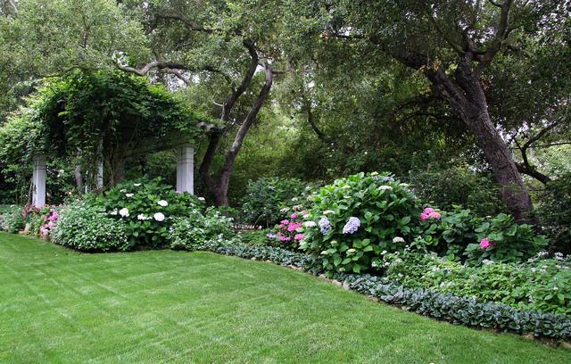 Back Yard Shade Garden - Traditional - Landscape - santa ... on Shady Yard Ideas  id=18238
