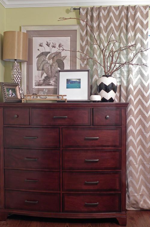 bedroom dresser decor
