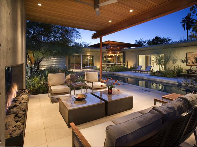 Byrnes Residence - Phoenix, AZ modern-patio on Houzz Backyard Patios  id=15656