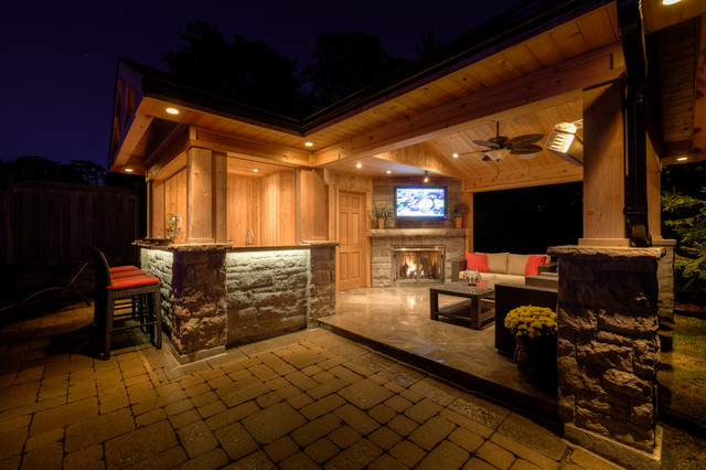 Outdoor Living Space on Houzz Outdoor Living Spaces id=51676
