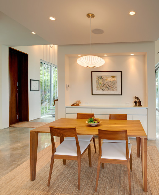 Barrier Island House Modern Dining Room Other Metro By Sanders Pace Architecture
