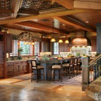 Dream Mountain Home Kitchen Pictures From Interior Designer Peter Salerno