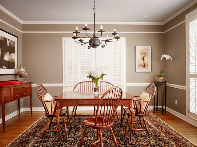 Paint Color Ideas Dining Room Chair Rail