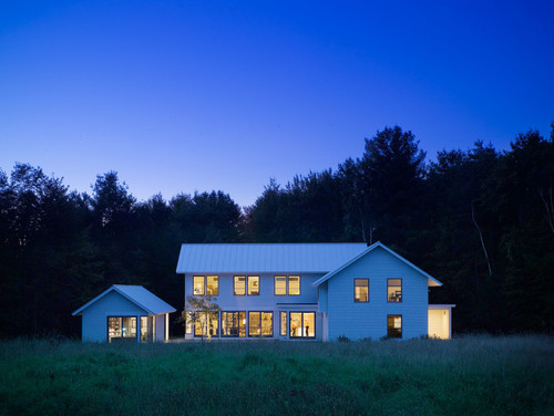 Vermont farmhouse