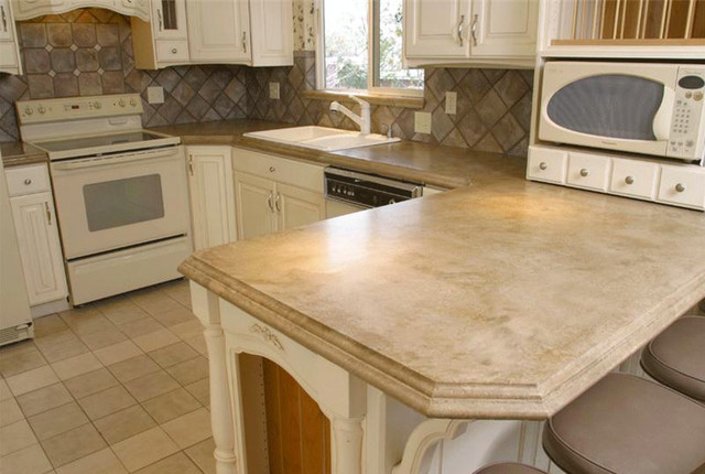 Concrete Kitchen Countertop Contemporary